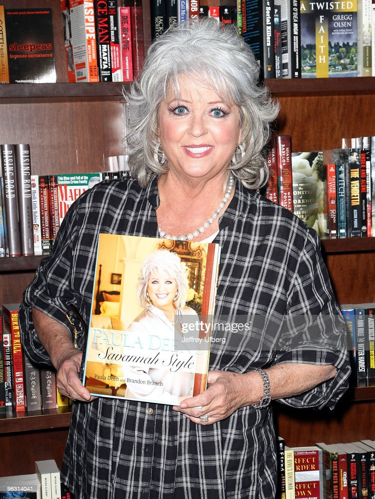 "Paula Deen Signs Copies Of ""Paula Deen's Savannah Style"" - April 7, 2010"