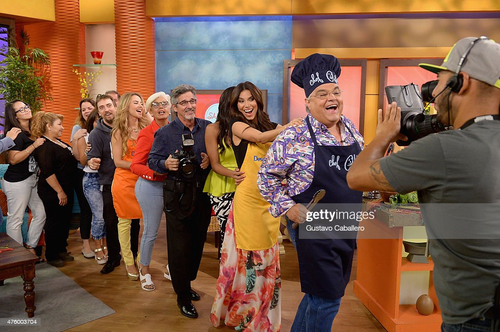 Roselyn Sanchez Co-Hosts Univision's Despierta America : News Photo