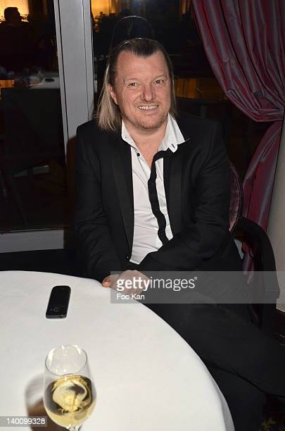 Chef Philippe Bohrer attends the Nadine Rodd Wedding Cocktail Party at Salon Diane at the Fouquet's on February 27 2012 in Paris France