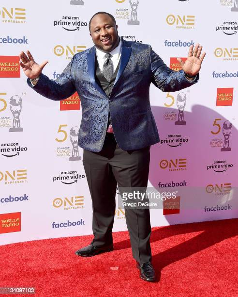 Chef Porsche Thomas arrives at the 50th NAACP Image Awards at Dolby Theatre on March 30 2019 in Hollywood California