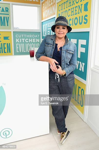 Chef Rachael Ray attends the KitchenAid Culinary Demonstrations during the 2015 Food Network Cooking Channel South Beach Wine Food Festival presented...