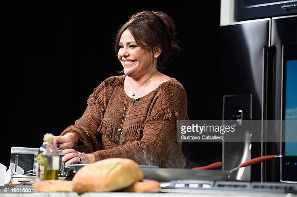 Chef Rachael Ray on stage at the Food Network Cooking Channel New York City Wine Food Festival Presented By CocaCola Grand Tasting presented by...