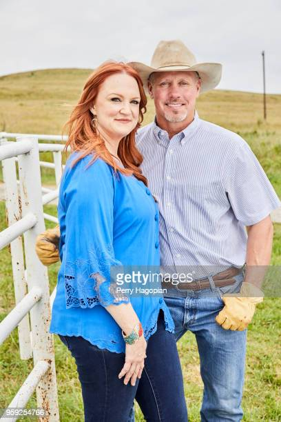 TV chef Ree Drummond and husband Ladd Drummond are photographed for People Magazine on August 25 2017 in Oklahoma PUBLISHED IMAGE