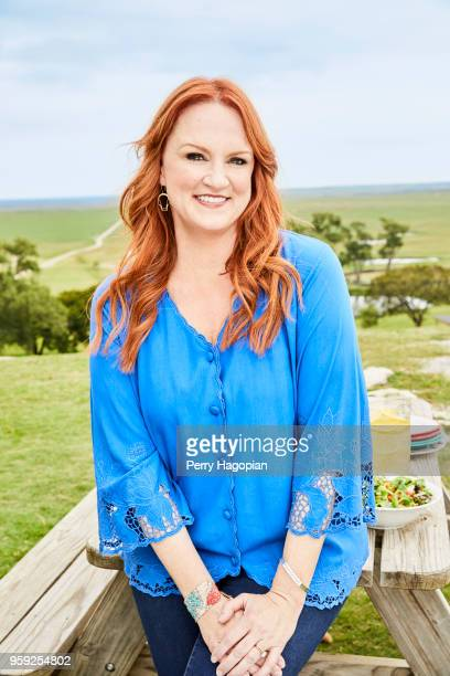 TV chef Ree Drummond is photographed for People Magazine on August 25 2017 in Oklahoma COVER IMAGE