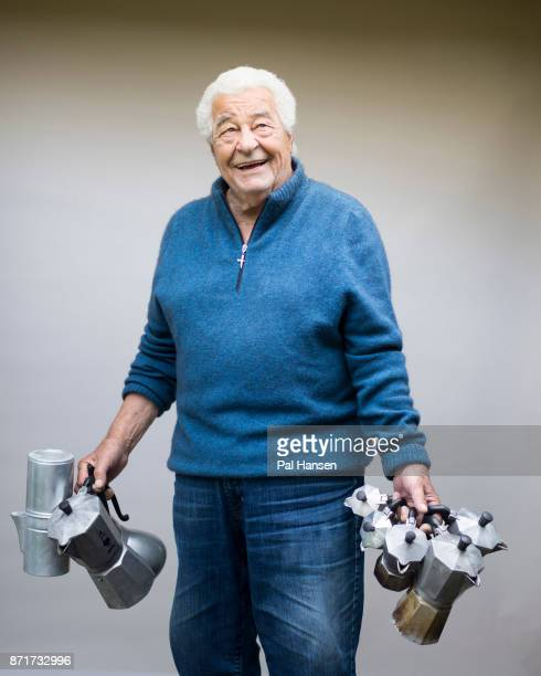 Chef restaurateur and food expert Antonio Carluccio is photographed on September 2 2016 in London England