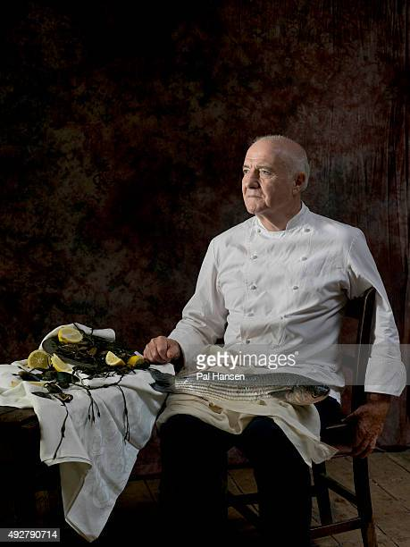 Chef Rick Stein is photographed for the Observer on April 26 2014 in London England