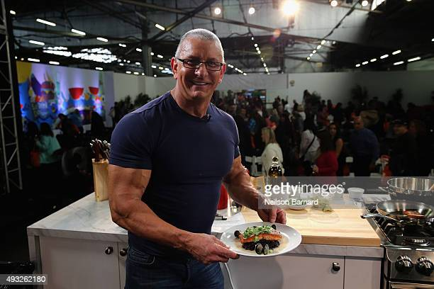 Chef Robert Irvine attends the Grand Tasting presented by ShopRite featuring Samsung Culinary Demonstrations presented by MasterCard® Food Network...