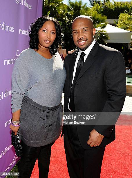 Chef Rock Harper and Tamara Harper attend the March of Dimes Foundation Samantha Harris Host 5th Annual Celebration of Babies Luncheon held at the...