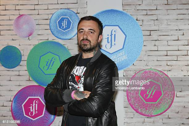 Chef Rubio poses at the IF Italians Festival 2016 at Franco Parenti Theater on October 7 2016 in Milan Italy