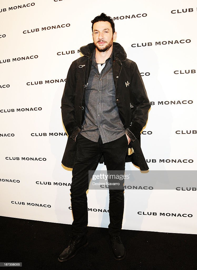 Chef Sam Talbot attends the opening celebration of Club Monoco's Fifth Avenue Flagship at Club Monaco Fifth Avenue on November 7, 2013 in New York City.