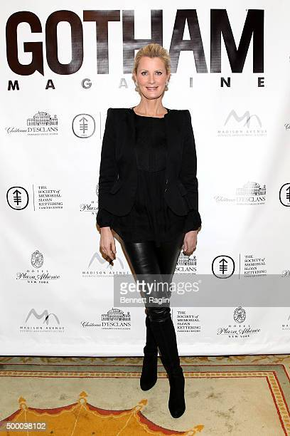 Chef Sandra Lee attends GOTHAM Cover Celebration Miracle On Madison Brunch with Sandra Lee at the Hotel Plaza Athenee on December 5 2015 in New York...