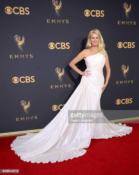 Chef Sandra Lee attends the 69th Annual Primetime Emmy Awards Arrivals at Microsoft Theater on September 17 2017 in Los Angeles California