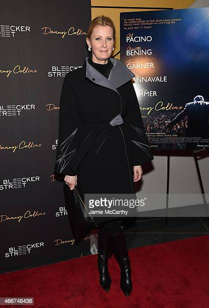 Chef Sandra Lee attends the Danny Collins New York premiere at AMC Lincoln Square Theater on March 18 2015 in New York City