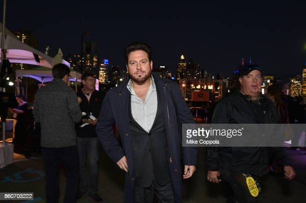 Chef Scott Conant attends The Food Network & Cooking Channel New York City Wine & Food Festival Presented By Coca-Cola - Smorgasburg presented by...