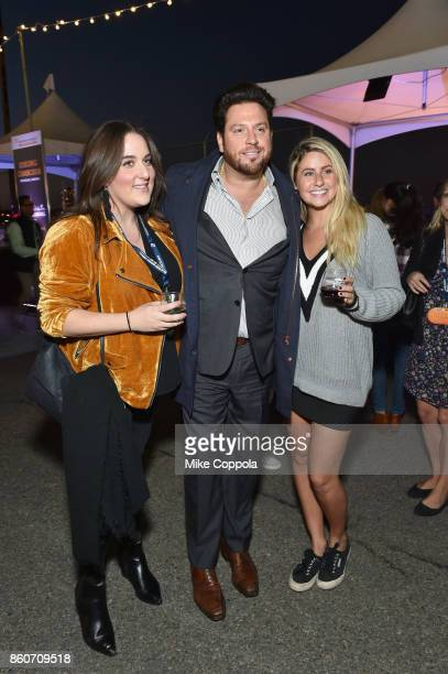 Chef Scott Conant greets guests at The Food Network & Cooking Channel New York City Wine & Food Festival Presented By Coca-Cola - Smorgasburg...