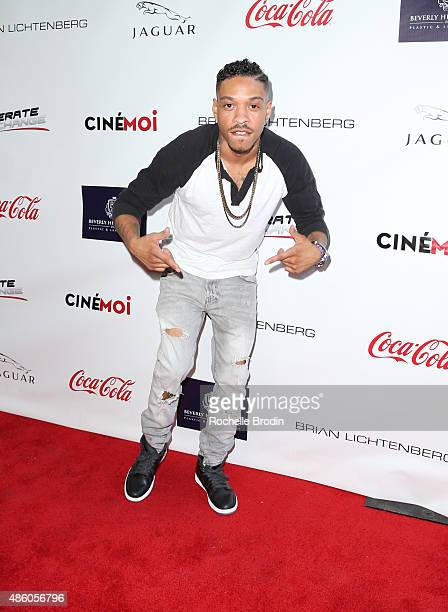 Chef Sean arrives at the Accelerate4Change charity event presented by Dr Ben Talei Cinemoi on August 29 2015 in Beverly Hills California