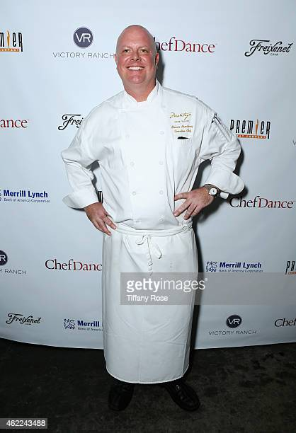 Chef Shawn Armstrong attends the ChefDance 2015 presented by Victory Ranch and Sponsored by Merrill Lynch, Freixenet and Anchor Distilling on January...