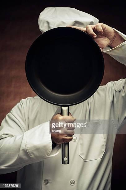 Chef mostrando o Menu