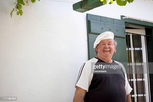 Chefkoch lächelnd