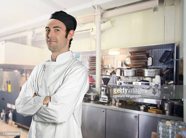 Chef smiling to camera