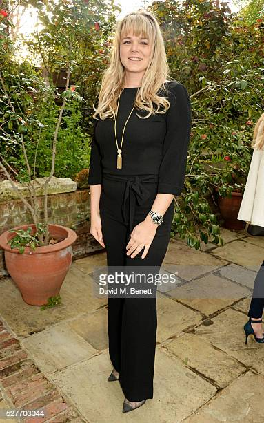 """Chef Sophie Michell attends the launch of her new book """"Chef On A Diet' at 3 Vincent Square on May 3, 2016 in London, England."""