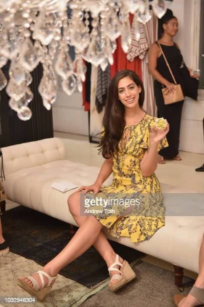 Chef Stephanie Nass attends the celebration of the BCBGMAXAZRIA SoHo store opening with Kate Young Bernd Kroeber and InStyle on September 13 2018 in...