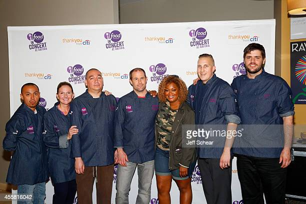 Chef Sunny Anderson attends Food Network in Concert on September 20 2014 in Chicago United States