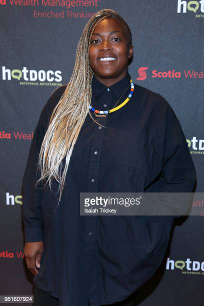 Chef Suzanne Barr attends the screening of 'The Heat A Kitchen evolution' at Hot Docs Ted Rogers Cinema on April 26 2018 in Toronto Canada