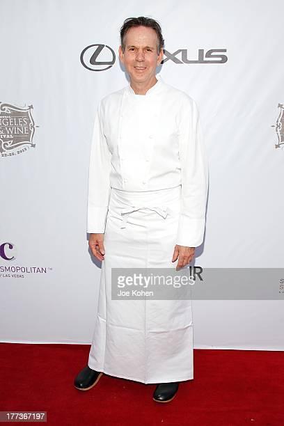 Chef Thomas Keller attends the 2013 Los Angeles Food Wine Festival 'Festa Italiana With Giada De Laurentiis' Opening Night Gala on August 22 2013 in...