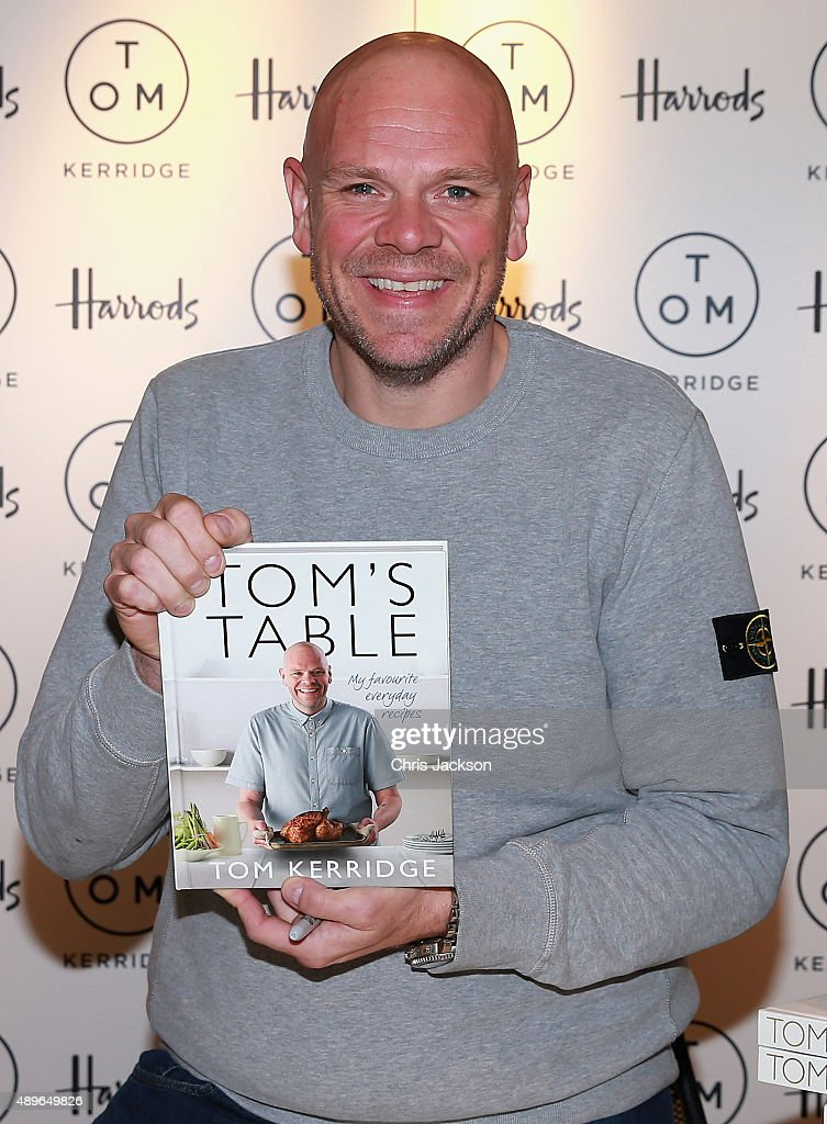 Tom Kerridge Book Signing