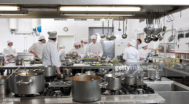 Commercial kitchen stock photos and pictures getty images for Cuisine professionnelle