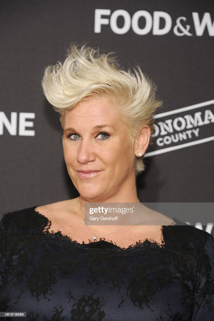 Chef & TV personality Anne Burrell attends the 2014 FOOD & WINE Best New Chefs Party at Powerhouse at The American Museum of Natural History on April 1, 2014 in New York City.