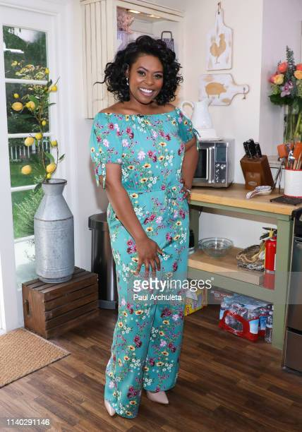 "Chef / TV Personality visits Hallmark's ""Home & Family"" at Universal Studios Hollywood on April 03, 2019 in Universal City, California."