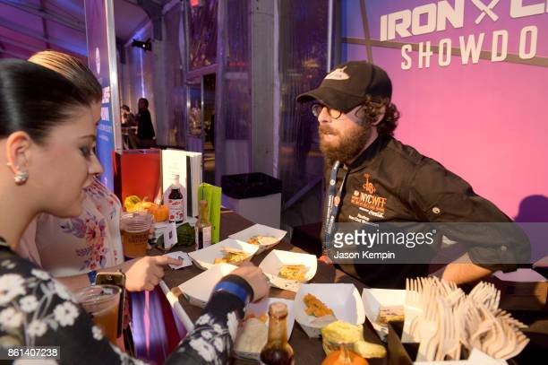 Chef Tyler Kord of No 7 Sub attends the Food Network Cooking Channel New York City Wine Food Festival presented by CocaCola Rooftop Iron Chef...