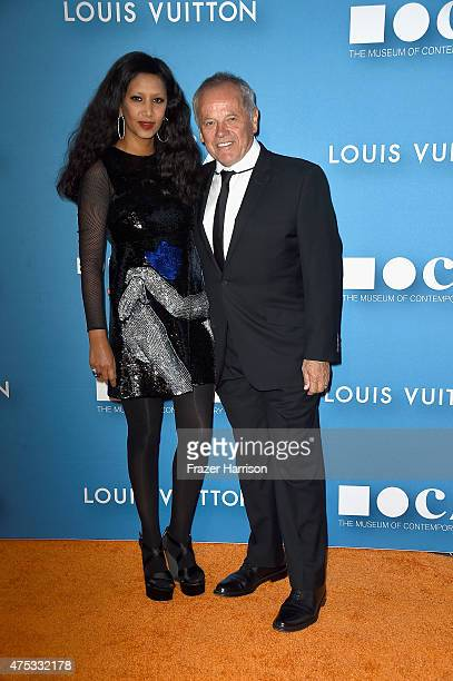 Chef Wolfgang Puck and designer Gelila Assefa attend the 2015 MOCA Gala presented by Louis Vuitton at The Geffen Contemporary at MOCA on May 30 2015...