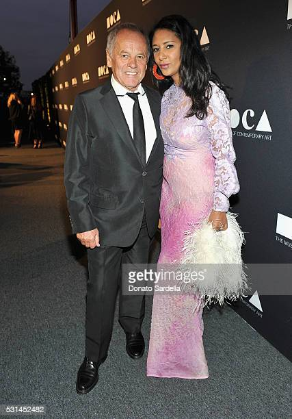Chef Wolfgang Puck and designer Gelila Assefa attend the MOCA Gala 2016 at The Geffen Contemporary at MOCA on May 14 2016 in Los Angeles California