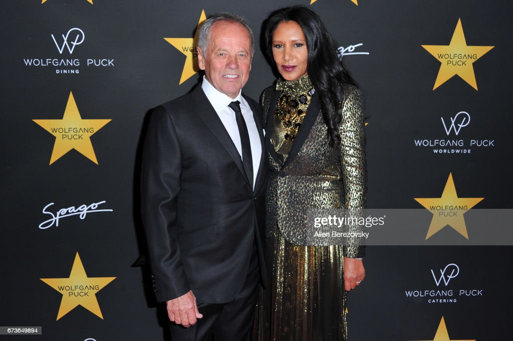 Gelila Assefa Puck Hosts Celebration In Honor Of Wolfgang Puck Receiving A Star On The Hollywood Walk Of Fame - Arrivals