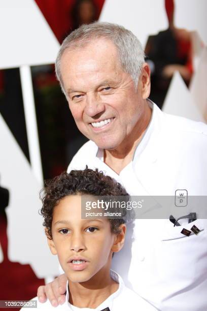 Chef Wolfgang Puck and son Oliver Puck attend the 87th Academy Awards Oscars at Dolby Theatre in Los Angeles USA on 22 February 2015 Photo Hubert...