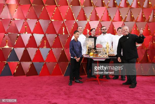 Chef Wolfgang Puck attends the 90th Annual Academy Awards at Hollywood Highland Center on March 4 2018 in Hollywood California