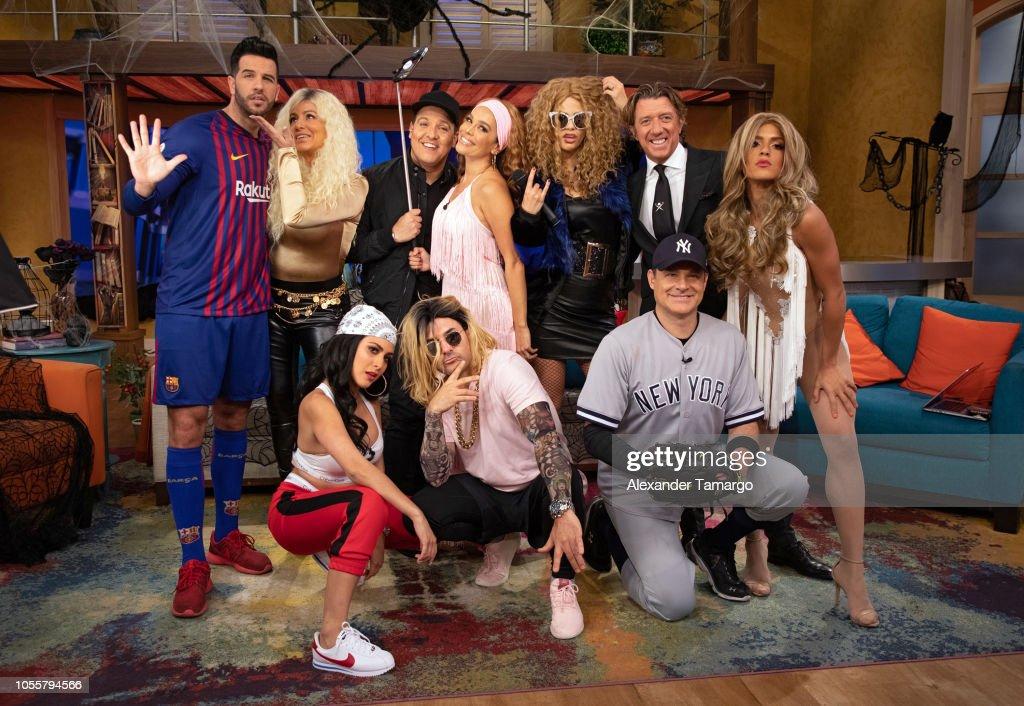 "Halloween At Univision's ""Despierta America"" : News Photo"