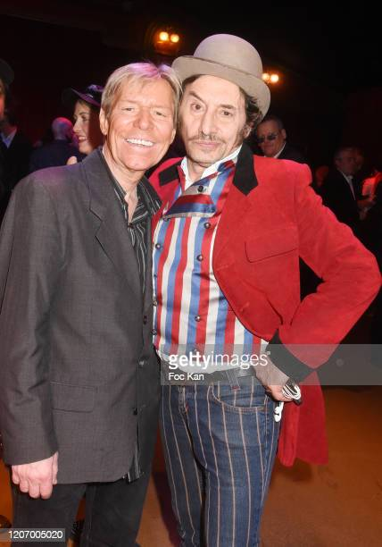 Chef Yvan and Albert Grintuch aka Albert de Paname attend Marcel Campion's 80th Birthday Party At Cirque d'Hiver on February 17 on February 17 2020...