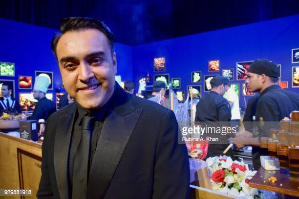 Chef Zorawar Kalra the alchemist of taste with his culinary creations at the second edition of Chivas Alchemy at The Lodhi Hotel on March 9 2018 in...