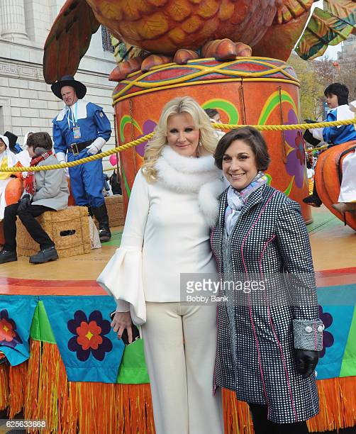 Chef/author Sandra Lee and Amy Kule attend the 90th Annual Macy's Thanksgiving Day Parade on November 24 2016 in New York City