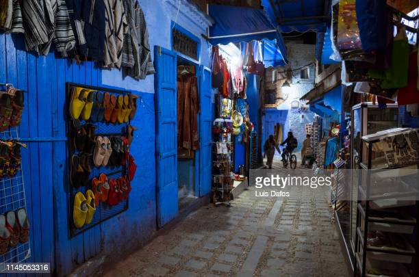 Chefchaouen, medina by night