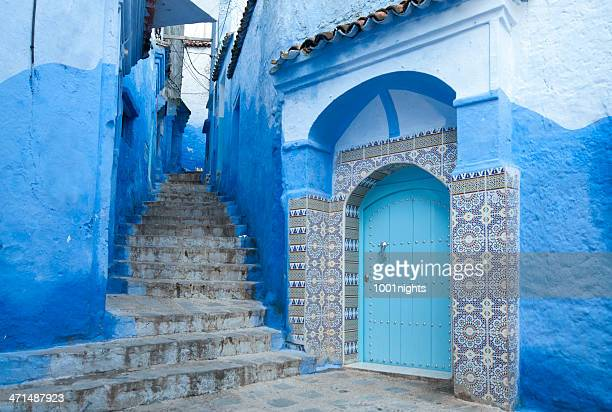 chechaouen, marruecos - chefchaouen fotografías e imágenes de stock
