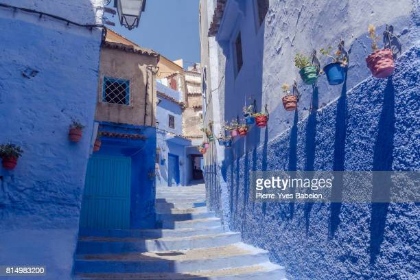 chefchaouen - pierre yves babelon stock pictures, royalty-free photos & images