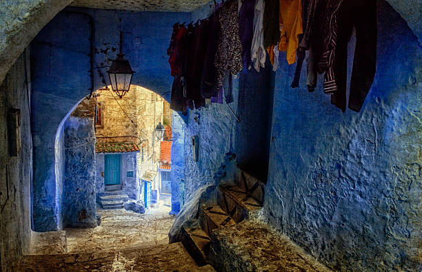 Chefchaouen Pintoresco Wall Art