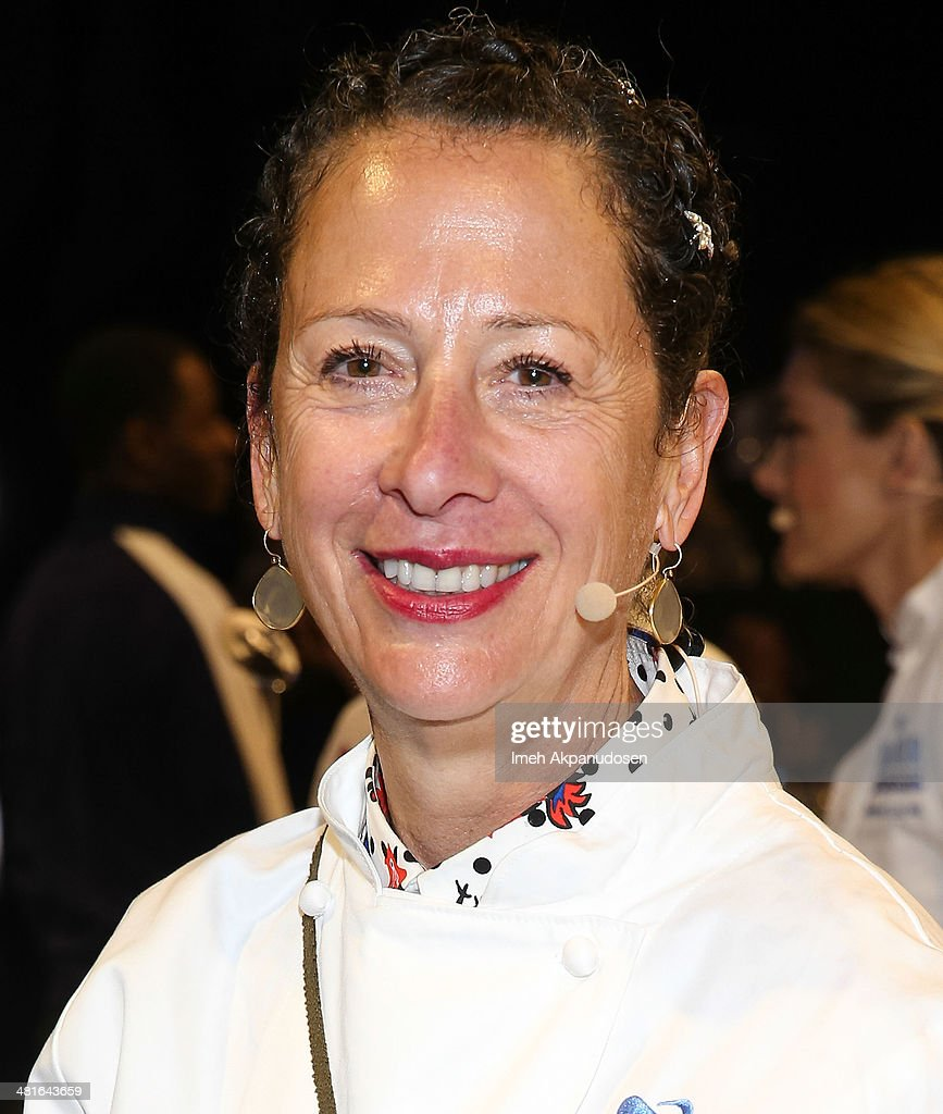 Chef/Co-Owner Of Osteria Mozza, Nancy Silverton Attends