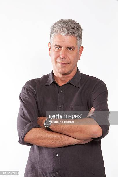 Chef/host/author Anthony Bourdain is photographed for Ad Week on July 27 2012 in New York City