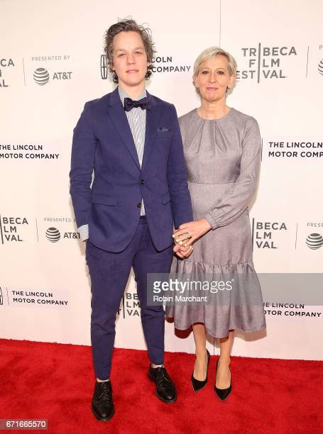 Chefs Ashley Merriman and Gabrielle Hamilton attend WASTED The Story of Food Waste Premiere during 2017 Tribeca Film Festival at BMCC Tribeca PAC on...